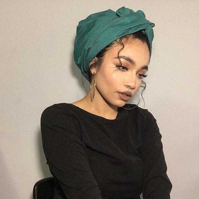 Curls Turban Head Wraps