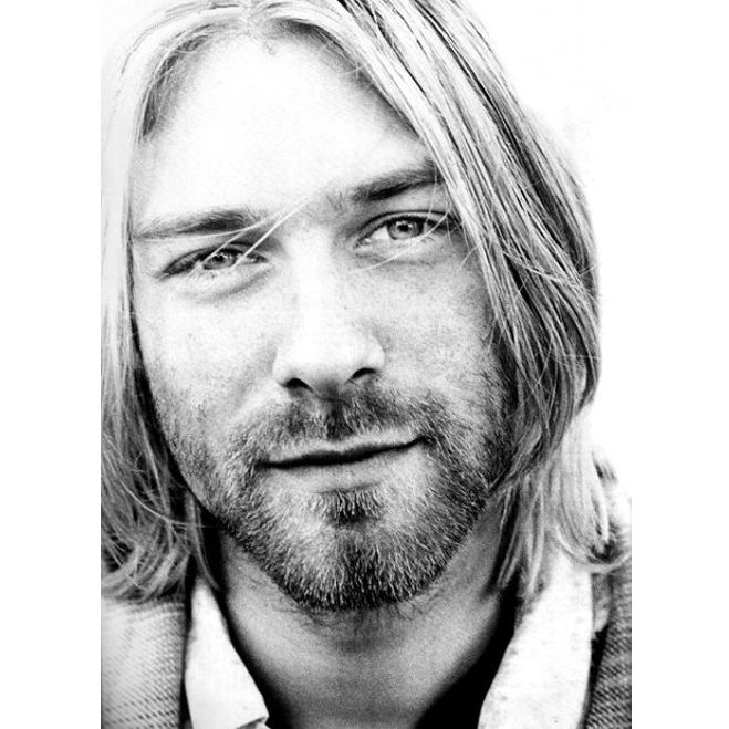 This is why you should just say NO to drugs...Kurt Cobain was Brad Pitt beautiful. Talented. Crazy intelligent. Yet, drugs ruined all of that.