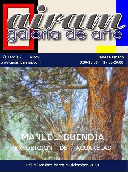 AVATARTE: MANUEL BUENDIA: Exposición en la galería de arte A...