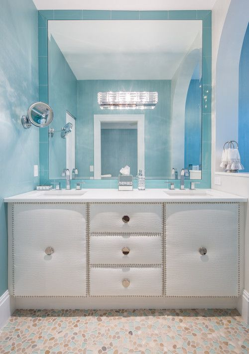 Gallery For Website  Beach Themed Bathroom Ideas All designers credited in blog post Check out nautical