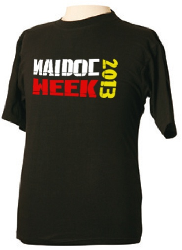 TS01 Printed Tees & Aboriginal Clothing - Have you own custom print for Naidoc week, Sorry day, or any other event. http://promocorner.com.au/aboriginal-clothing/