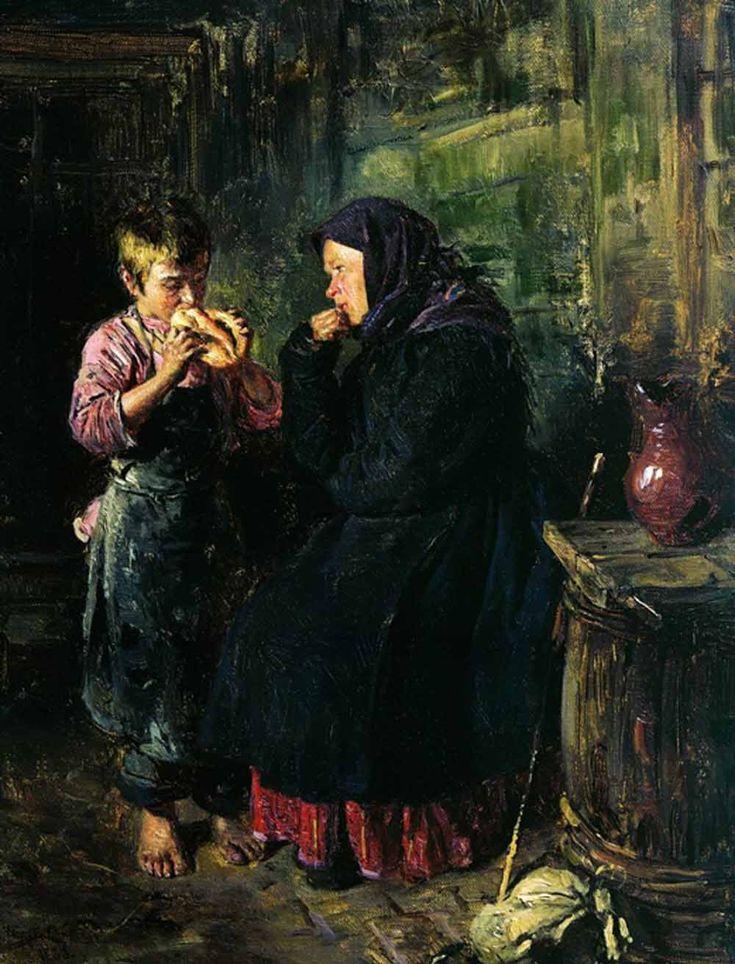 «Свидание», Государственная Третьяковская галерея Маковский В.Е.