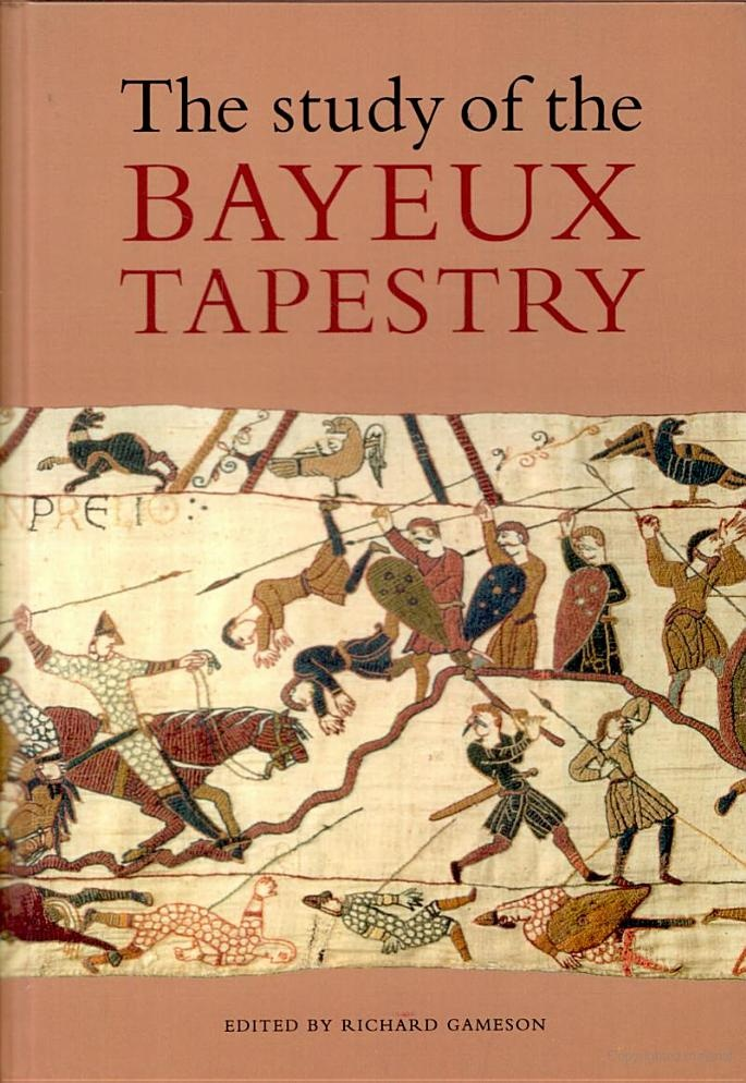 A study of the Bayeux Tapestry, and it seems to enable an embroidery to follow techniques and reproduce it...still looking into that part.