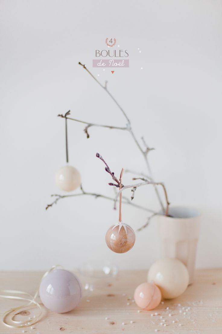 DIY boules de noël simplissimes