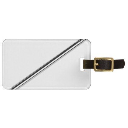 Steel nail bag tag - construction business diy customize personalize