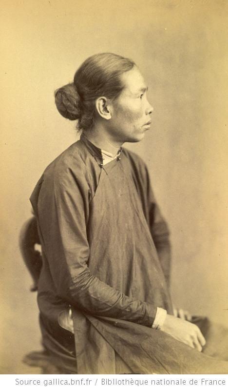 Ambassade Cochinchinoise à Paris. 1863. Caay, 28 ans. Annamite de la province de Gia-Drûh, domestique.