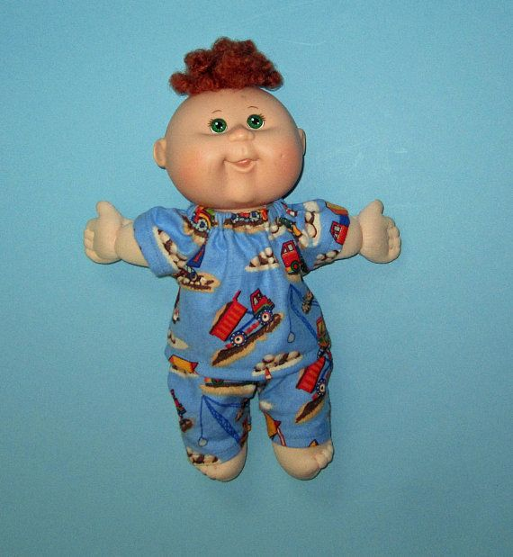 Cabbage Patch Surprise Doll Clothes Work Trucks Pajamas 10 Etsy Cabbage Patch Babies Doll Clothes Cabbage Patch Kids