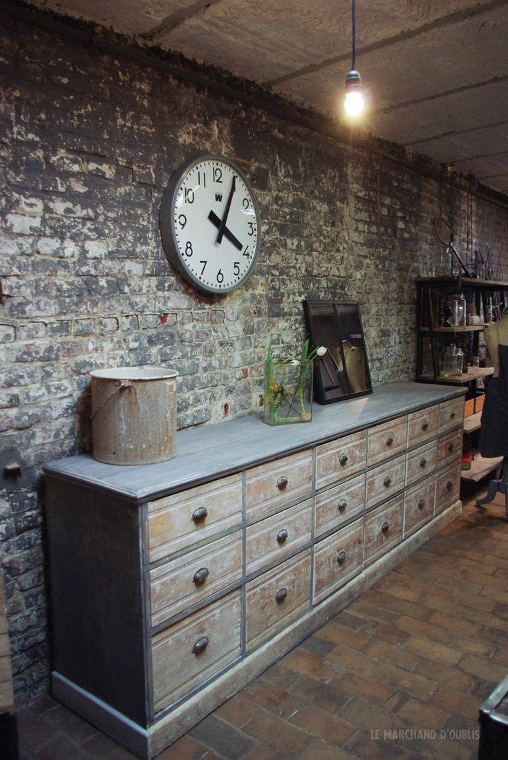 14 best meubles atelier images on pinterest furniture oblivion and 20 years old. Black Bedroom Furniture Sets. Home Design Ideas