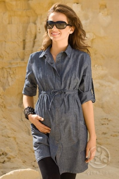 Kanye west t-shirt style maternity dresses