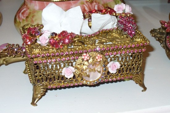 a beautiful bejeweled ormolu hand decorated filigree. Black Bedroom Furniture Sets. Home Design Ideas