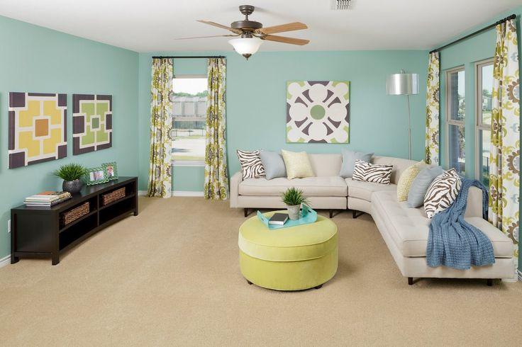 New Homes in Balch Springs, TX - Estates at Spring Ridge Plan 2806 Loft