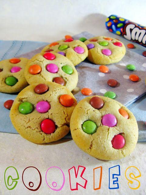 J'en reprendrai bien un bout...: Cookies aux Smarties®