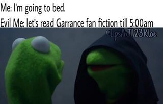 I don't do that :)))) *SECRETLY READS GARRANCE ZANVIS AND VYLANTE FANFICS UNTIL 5:00AM*