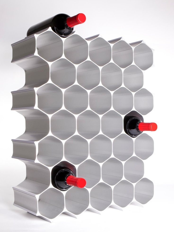 WineHive 36-Bottle Modular Wine Rack at Wine Enthusiast - $529.95