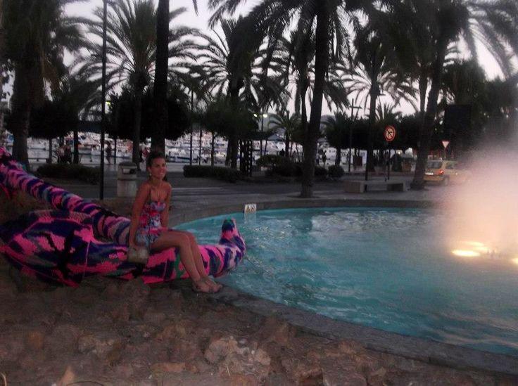 San Antonio harbour Ibiza