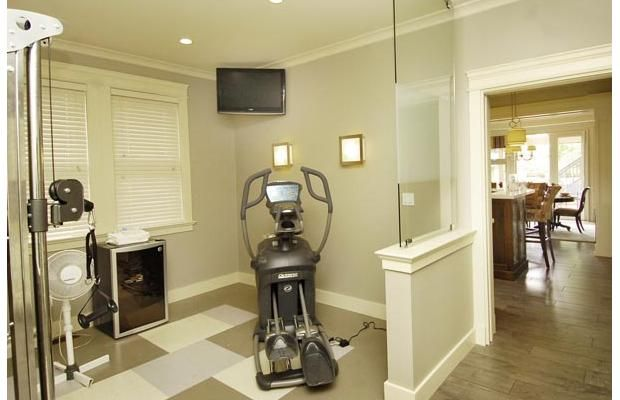 Half Wall With Glass Partition Home Gym Ideas Pinterest Put Together Glasses And Home