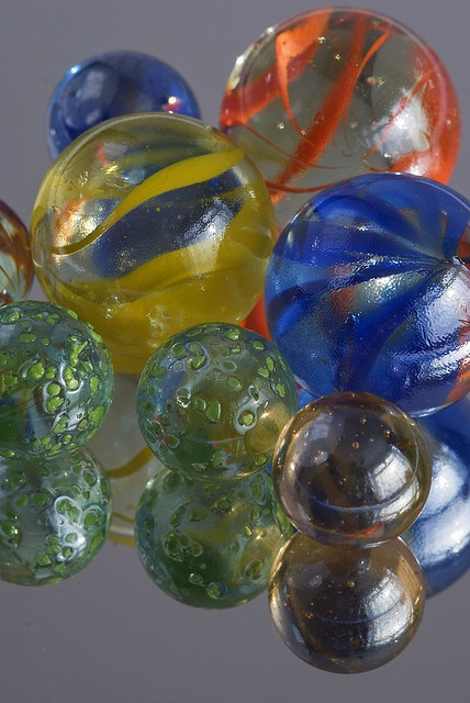 Glass marbles by robert_a_dickinson, via Flickr