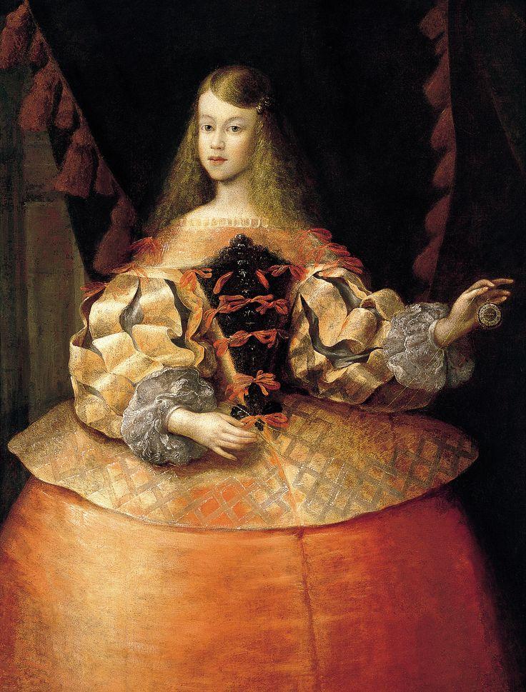 Infanta Margarita Teresa of Spain (1651-1673) #HistoricalClothing #Infanta