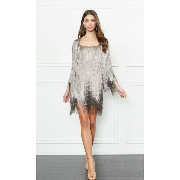 Rachel Zoe Isla Metallic Fringe Cardigan ($525) ❤ liked on Polyvore featuring tops, cardigans, jackets, metallic, white fringe top, rayon cardigan, white boxy top, fringe cardigans and white cardigan