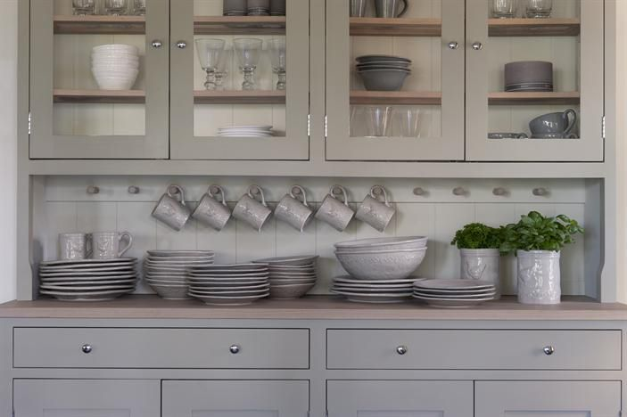 .Butler Pantries, Cabinets Colors, Butler Pantry, Kitchens Ideas, Country Colours, Contemporary Country, Paper Mulberry, Kitchens Grey, Kitchens Cabinets