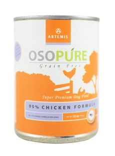 Artemis Osopure 95% Chicken Grain-Free Formula Canned Dog Food