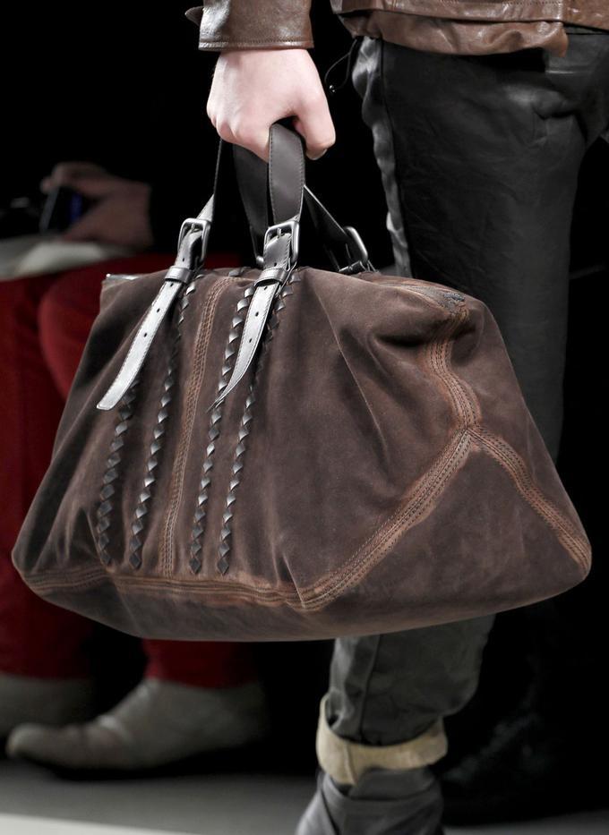 Fashion & Lifestyle: Bottega Veneta Men's Bags Fall 2011