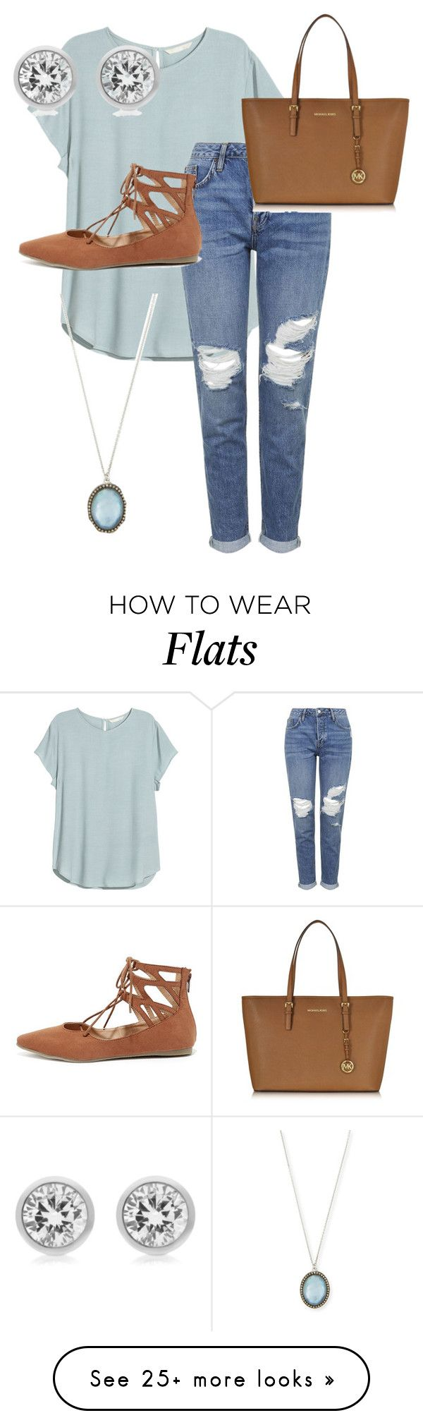 """download complete"" by qveenmedinaa on Polyvore featuring Topshop, Liliana, Michael Kors and Armenta"