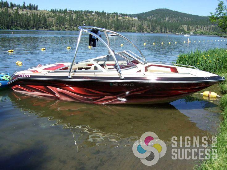 Best 25 boat wraps ideas on pinterest boat stickers for Custom fishing boats