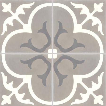 Carreaux de ciment - décors 4 carreaux - Carreau T31 27.10.32 - Couleurs & Matières