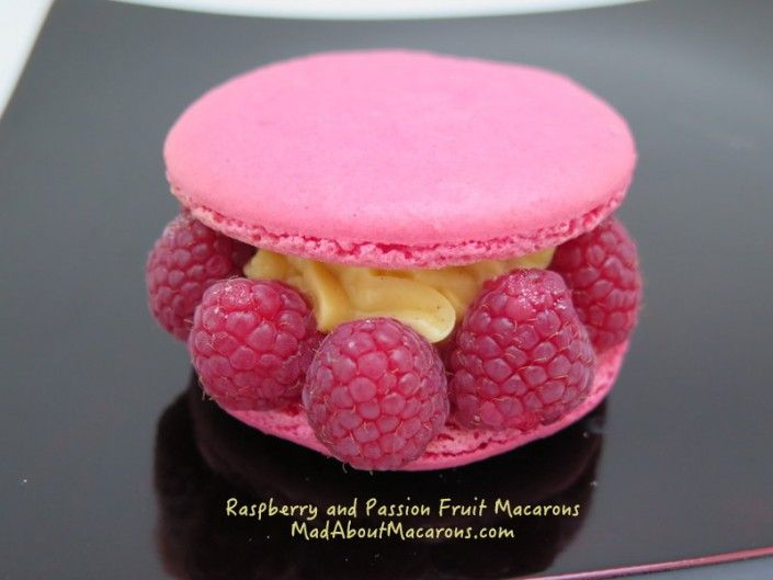 Passion Fruit and Raspberry Macaron Filling
