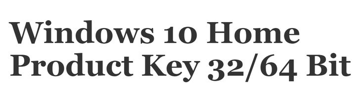 Buy Genuine Windows 10 Home Product Key 32/64 Bit - Cheap Price - Key1024