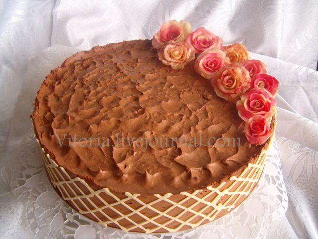 Тройной шоколадный торт от Mishelle