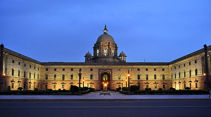 what is the history of #Rashtrapati_Bhawan