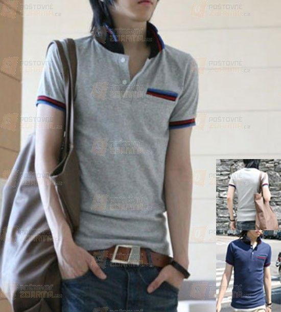 Pánské polo tričko - na výběr ze 2 barev