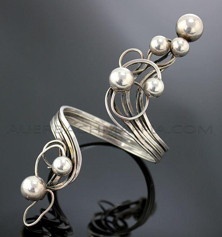 Bracelet | Rachel Gera. Sterling silver.  Pre 1970s