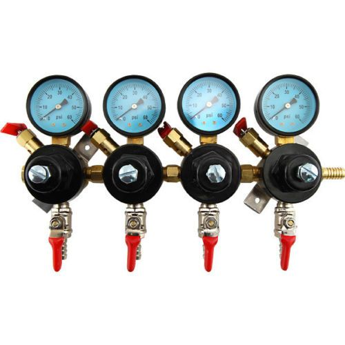 4-Way Secondary Air Regulator for Draft Beer Kegerators
