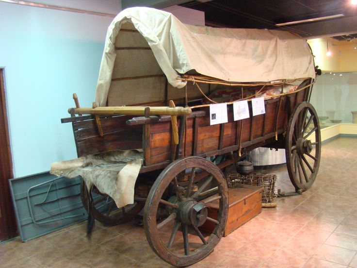 The Blood River oxwagon, belonged to NJ Swart, and was part of the Voortrekker laer on 16 December 1838