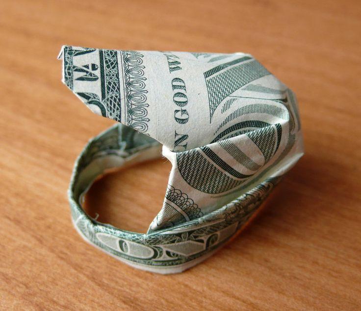 Dollar Bill Origami Motorradhelm von craigfoldsfiv…