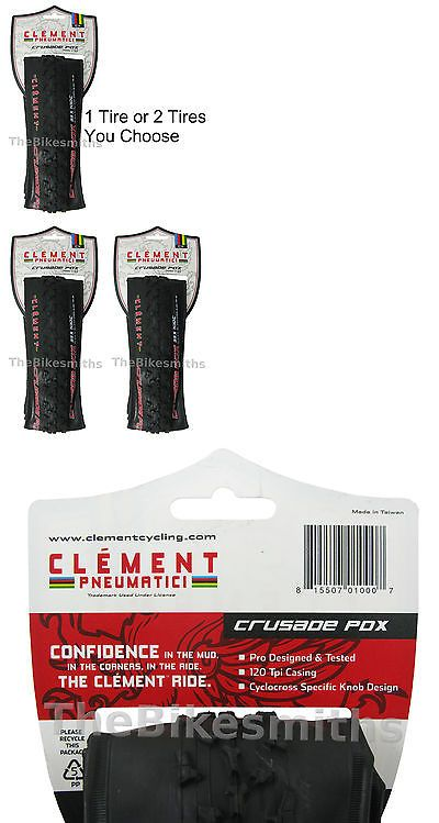 Seatposts 58101: 1 Or 2-Pack Clement Crusade Pdx 700 X 33C Folding Cyclocross Bike Tire 120 Tpi -> BUY IT NOW ONLY: $65.6 on eBay!