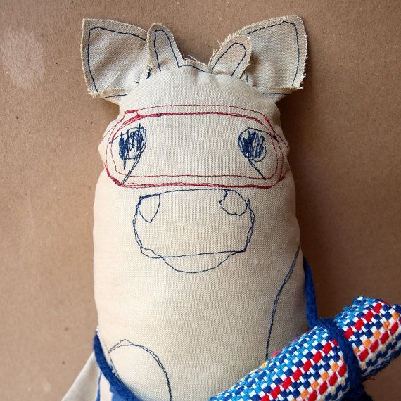 Summer plush toy Summer soft animal Swimmer by AbracadabraAndStuff