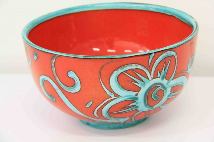Sarah-May Baxter - Large Bowl  ceramics 18cm diameter