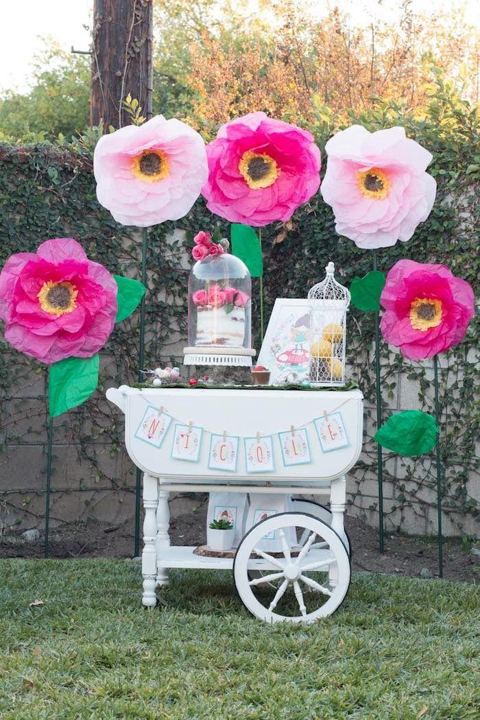 Fairy Garden Birthday Party Kara 39 S Party Ideas Cas