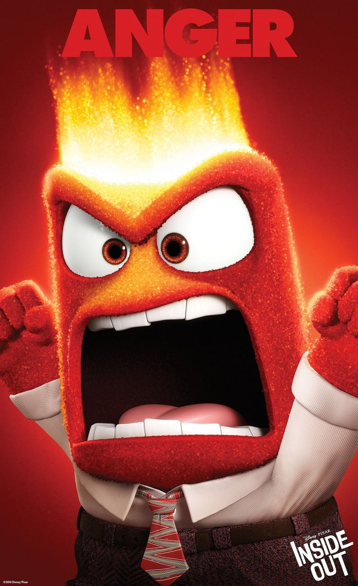 One chill pill and a large herbal tea, please. Does Riley Anderson's emotion Anger from the Disney Pixar animation Inside Out remind you of anyone? #nesteduniverse: