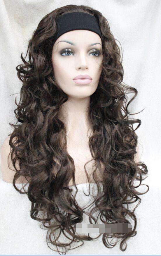kk 003756 Dark Brown Long Curly Wave women Daily 3/4 half wig with headband     #http://www.jennisonbeautysupply.com/  #<script     http://www.jennisonbeautysupply.com/products/kk-003756-dark-brown-long-curly-wave-women-daily-34-half-wig-with-headband/,                    Jennison Beauty Supply     US $26.79,     US $19.56    #http://bit.ly/29iVN39