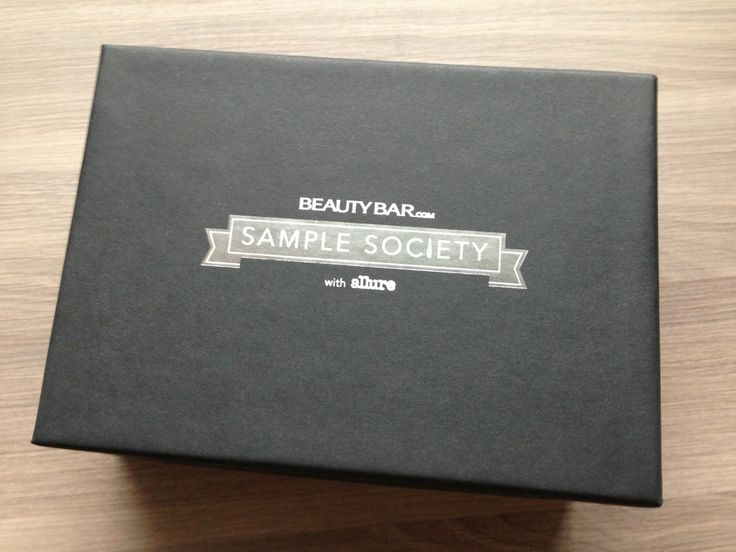 Sample Society Review - February 2013 - Beauty Bar Monthly Makeup Subscription Boxes