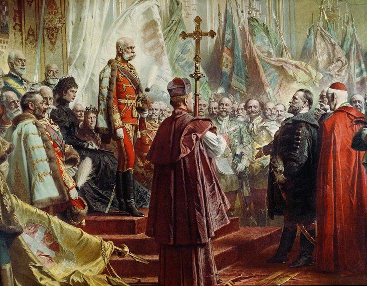 Ο αυτοκράτορας της Αυστρίας και βασιλιάς της Ουγγαρίας Φραγκίσκος Ιωσήφ Ι (1896)