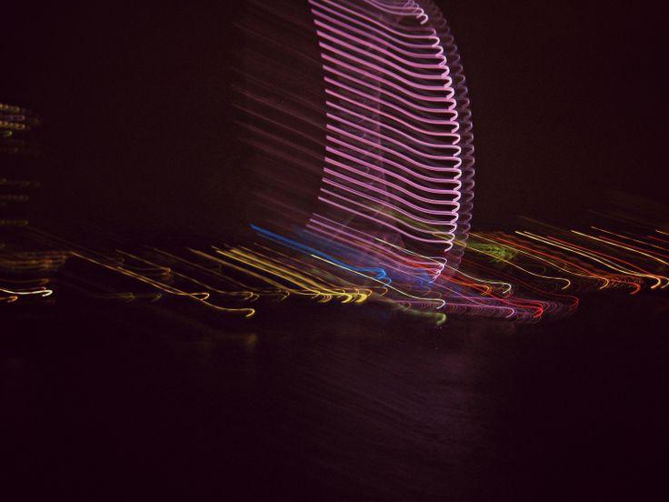 London Eye di notte, effetto.
