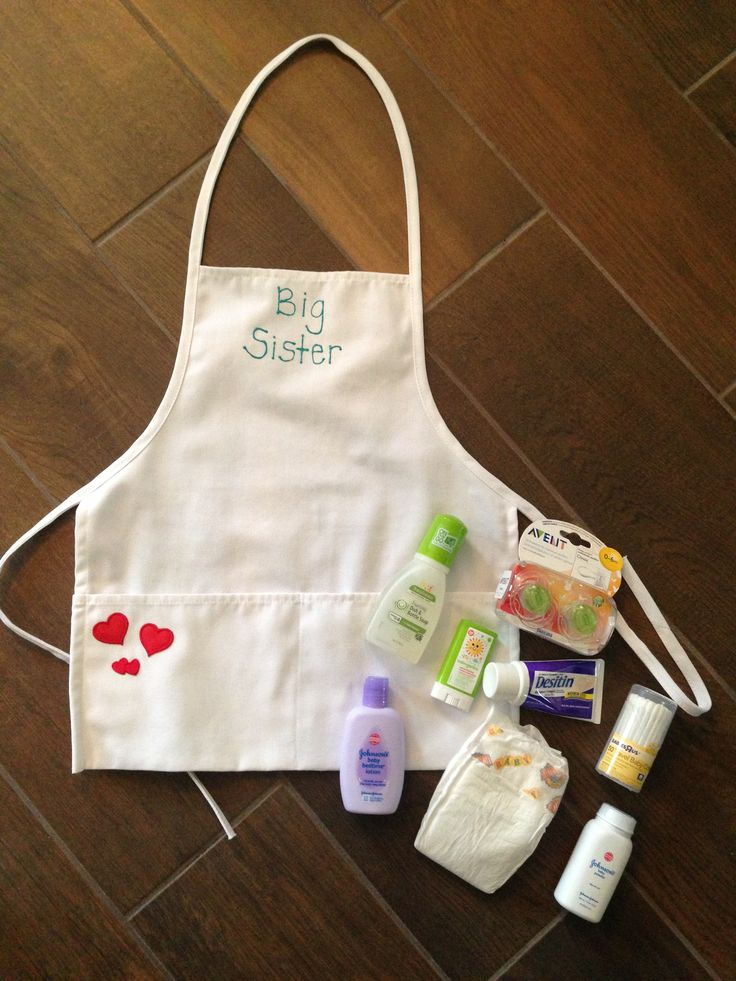 Beautiful Gift Ideas For Big Sister At Baby Shower Part - 5: Big Sister Gift! Great For An Older Sibling Who Likes To Help.