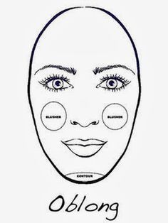 12 best rectangle face shape images on pinterest academy award contour and highlight for oblong faces urmus Gallery