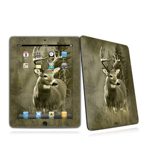 Lone Buck Design Protective Decal Skin Sticker for Apple iPad 1st Gen Tablet E-Reader by MyGift. $19.99. This scratch resistant skin sticker helps to protect your Apple iPad 1st Generation Tablet E-Book Reader while making an impression. Self-adhesive plastic-coated skins cover the front and back of the Apple i-Pad 1 and are custom cut to perfectly fit the iPad. Skins are paper-thin so they do not add any bulk. Each design is digitally printed in vibrant, art-quality resolu...
